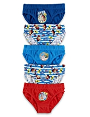 5 Pack Pure Cotton Jake and the Neverland Pirates Slips