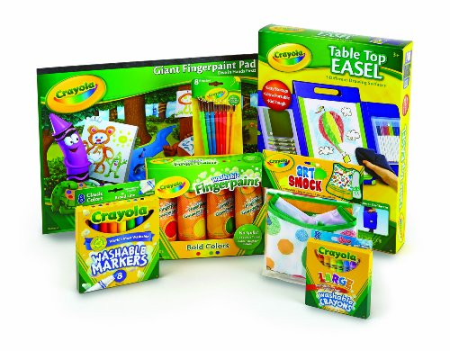 Crayola Tabletop Easel and Accessories Value Bundle