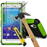 (Grün) Sony Xperia M4 Aqua hülle Hochwertige starke und