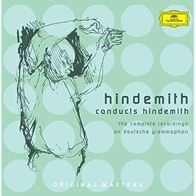 """Hindemith: """"Die vier Temperamente"""" f�r Klavier und Streichorchester - Var. I: Melancholisch. Langsam - Presto - Langsamer Marsch"""