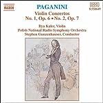 パガニーニ:ヴァイオリン協奏曲第1番  第2番