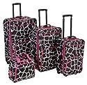 Rockland Luggage 4 Piece Luggage Set