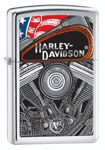 Zippo H-D Engine Pocket Lighter