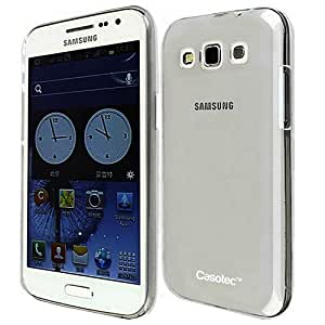 Casotec Soft TPU Back Case Cover for Samsung Galaxy Grand Quattro i8552 - Clear