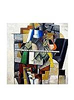 Especial Arte Lienzo Ritatto di Mikhail Matjuschin - Kazimir Malevich Multicolor