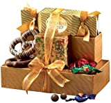 Broadway Basketeers Gourmet Chocolate Mothers Day Gift Set