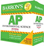 Barrons AP Environmental Science Flash Cards, 2nd Edition