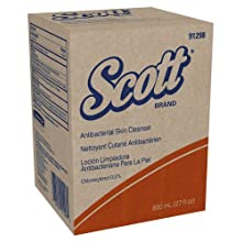 Kimberly-Clark Scott 91298 Antibacterial Skin Cleanser, 800 mL (Case of 12)