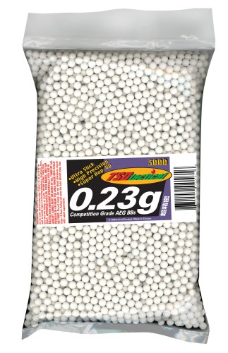 TSD Tactical 3,000 ct. Bag Plastic White Airsoft BBs (6mm, 0.23g)