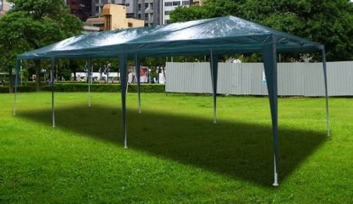 New 30'X10' Outdoor Party Wedding Tent Gazebo Events Pavilion - Green front-930334