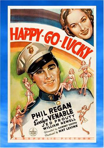 Cover art for  Happy Go Lucky (1936)