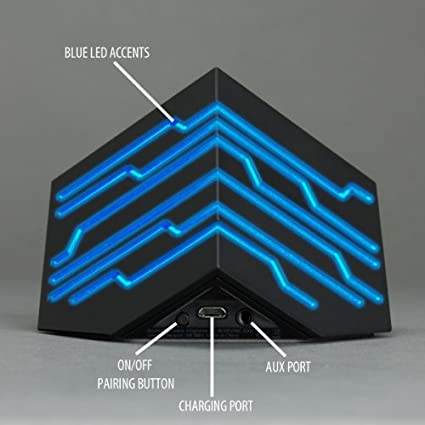 Gogroove BlueSYNC EDG Portable Bluetooth Speaker