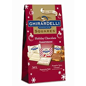 ... Spice Caramel, Eggnog) Chocolate Squares, 7.18-Ounce : Seasonal