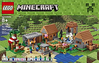 LEGO Minecraft 21128 The Village Building Kit (1600 Piece) from LEGO