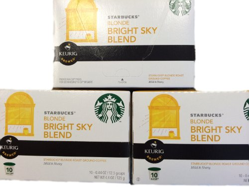 Starbucks Bright Sky Blend K-Cups, 3 Packs Of 10 Cups front-538196