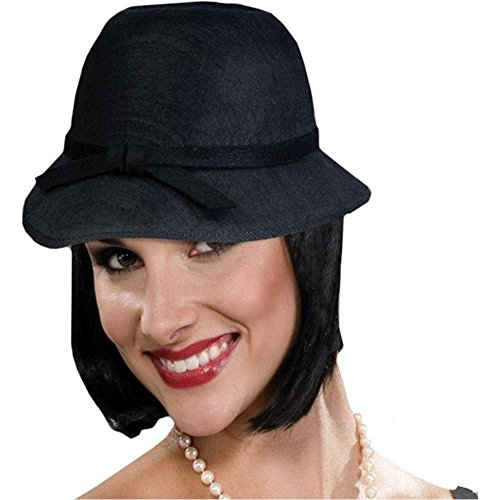 Flapper Girl Cloche Hat