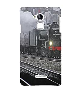 Steam engine Back Case Cover for Coolpad Note 3 Lite