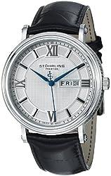 Stuhrling Prestige Men's 400.33152 Swiss Quartz Day and Date Dress Watch