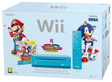 Nintendo Wii Hw Azul + Mario & Sonic