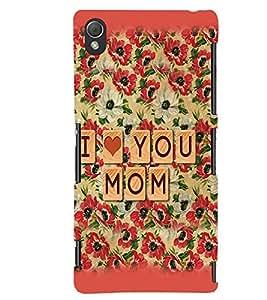 printtech Mother Back Case Cover for Sony Xperia Z4::Sony Xperia Z4 E6553