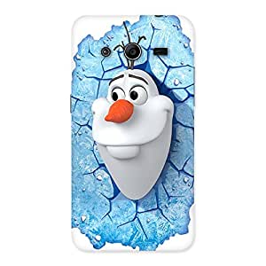 Ajay Enterprises Wonderful Snowy Olfa Back Case Cover for Galaxy Core 2