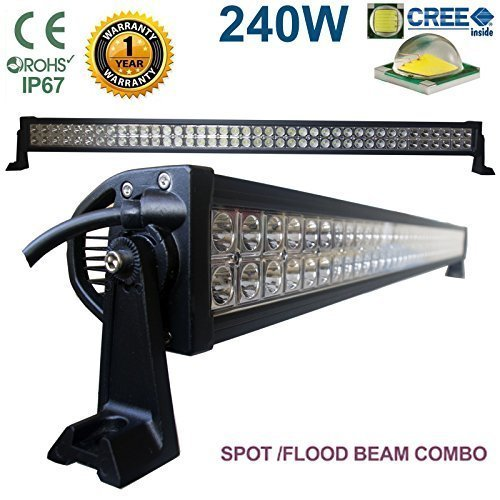 240W 106,7cm CREE LED Light Bar travail Flood Combo Conduite Lampe Spot Off Road 4x 4WD Bateau SUV Jeep Recovery Micro Tracteur camion grue