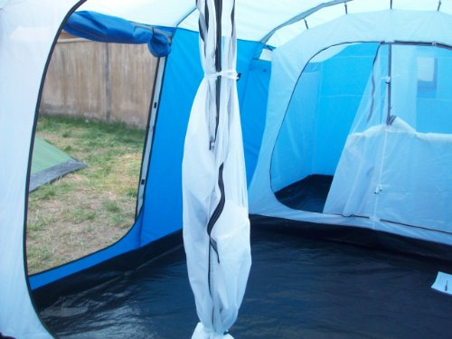 Peaktop Waterproof 5000mm 4+1 Room 8 Person Big Tunnel Family C&ing Tent & Camping Tents: Peaktop Waterproof 5000mm 4+1 Room 8 Person Big ...