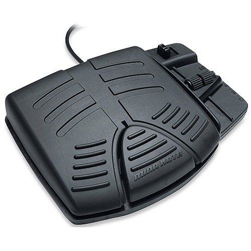 Boat Foot Pedal With Powerdrive V2, Speed Control Knob Side Steering Plug-N-Play