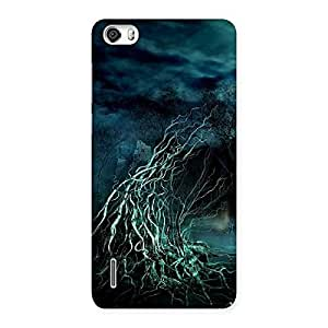Delighted Horror Tree Multicolor Back Case Cover for Honor 6