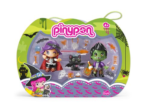 Pinypon - Pinymonsters, pack de 2 figuras (Famosa 700011164)