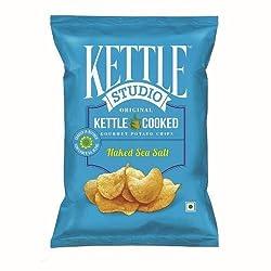 Kettle Studio Naked Sea Salt, (Pack of 5)