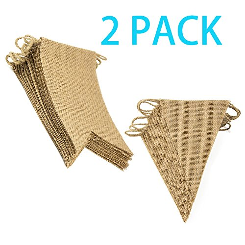Trasfit-Set-fo-2-DIY-Burlap-Banner-Hand-Painted-Wedding-Banner-for-Wedding-Birthday-and-Kids-Party-Decoration