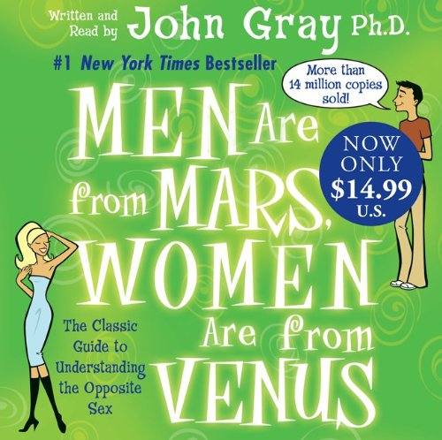 Men are From Mars, Women are From Venus: John Gray: 9780061232053: Amazon.com: Books