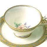 Noritake(ノリタケ) ボーンチャイナ グランブロシェ ティー・コーヒー碗皿 Y59587/4465-2