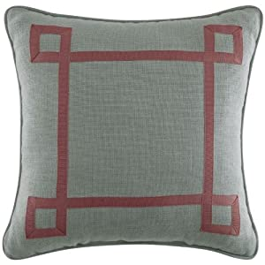 Retreat Square Pillow by Croscill
