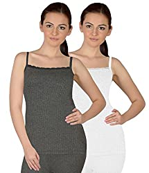 Selfcare Set Of 2 Girls Spaghetti Thermal Top