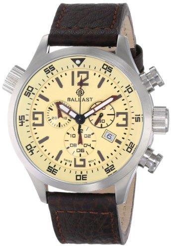 Ballast Men's BL-3103-05 Odin Analog Display Swiss Quartz Brown Watch