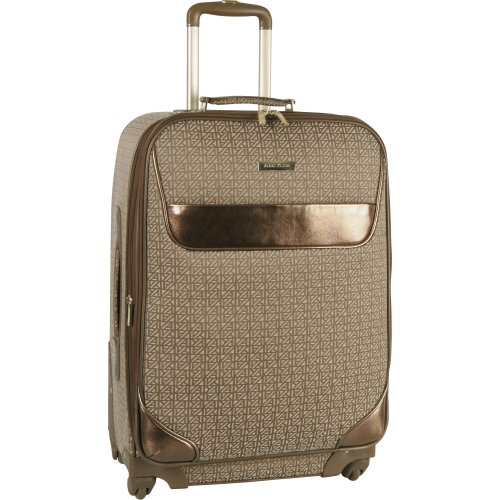 Anne Klein Luggage Signature Spinner Suitcase, Brown/Tan, One Size best offers