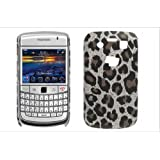 Textured Leopard Animal Print Back Case Cover For BlackBerry Bold 9700by Give Me A Chance