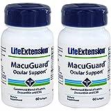 Life Extension Macuguard Ocular Support, 60 Softgels (2 Pack)