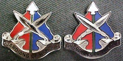 112th Military Police MP Battalion Distinctive Unit Insignia - Pair