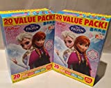 Kellogg's Disney Frozen Assorted Fruit Snacks 20 Pouches Per Box 16 Oz. (2 Pack)