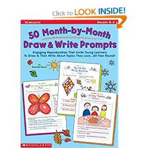 Amazon.com: 50 Month-by-Month Draw & Write Prompts: Engaging Reproducibles That Invite Young Learners To Draw & Then Write About Topics They Love.All Year Round! (0078073271764): Danielle Blood: Books
