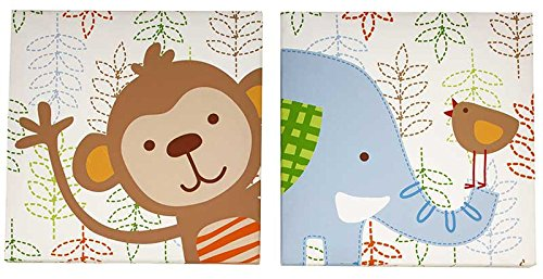 NoJo Congo Bongo Wall Decor Canvas - 2pk