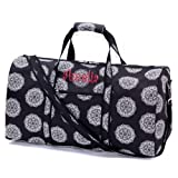 aBaby Black Maddie Large Duffel, Name: Amelia