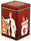 Vintage Coca Cola Storage Tin - Red
