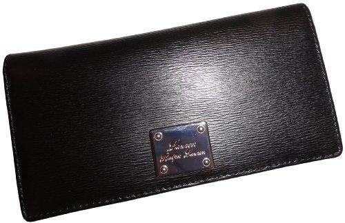Ralph Lauren Women'S Sloan Street Slim Leather Wallet Black