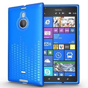 TUDIA Ultra Slim Melody TPU Bumper Protective Case for Nokia Lumia 1520 (Blue)