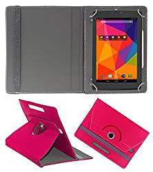 PCM Designer Universal Folio Case for 7inch Tablet, PU Leather Stand Protector Case Cover with Multi-angle Stand for 7