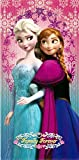 Disney Beach Towel Frozen Anna & Elsa Bath Towel 100% Cotton